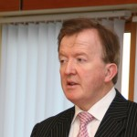 Minister John Perry Visiting our Office in Tramore